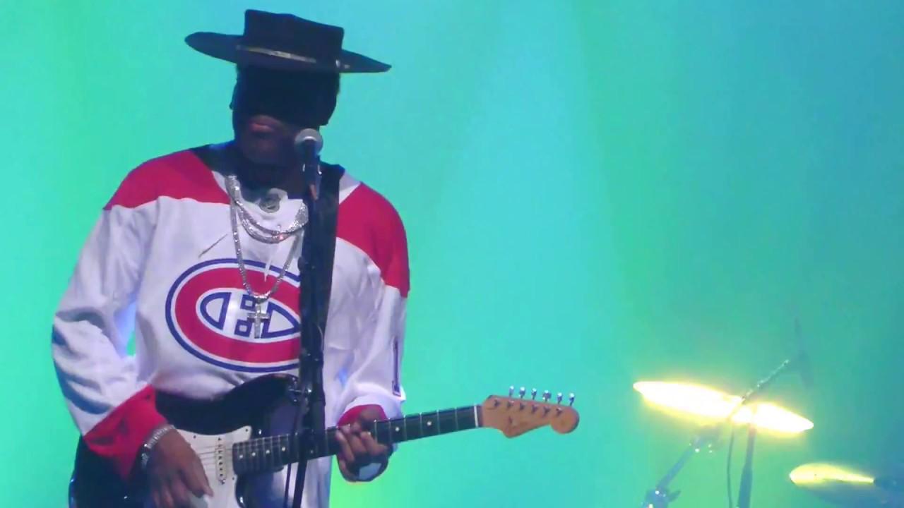 The CARVIN JONES Band CARVINATOR BLUES Guitar Power Trio Club Soda Montreal Canada 2018