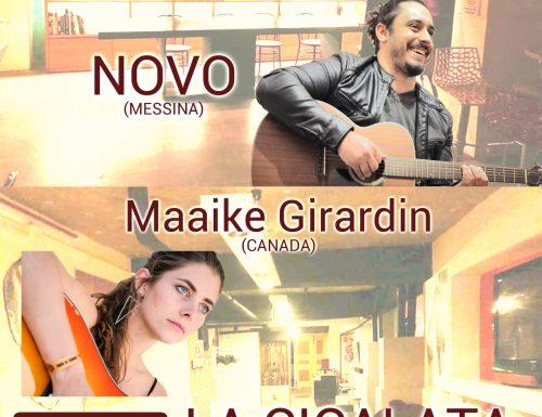 Novo + Maaike Girardin @ La Cicalata, Messina